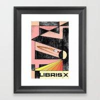 Libris X Framed Art Print