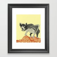 Batty Framed Art Print