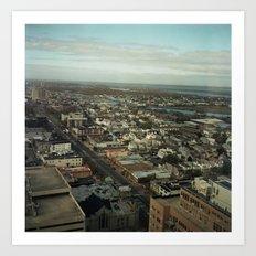 Atlantic City, NJ Art Print