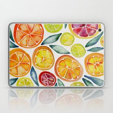 Sliced Citrus Watercolor Laptop & iPad Skin