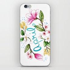 April Flowers iPhone & iPod Skin
