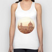 Florence Cathedral Unisex Tank Top