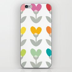 Heart petals iPhone & iPod Skin