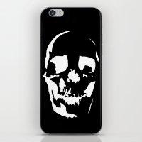 Skull Negative iPhone & iPod Skin