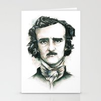 Edgar Allan Poe And Rave… Stationery Cards