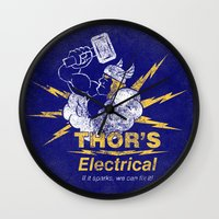 Thor - Thor's Electrical Wall Clock