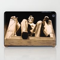 Lincoln stirs iPad Case