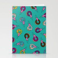 Donut Lickin's Stationery Cards