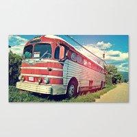 Roadie Canvas Print