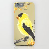 Yellow Finch iPhone 6 Slim Case