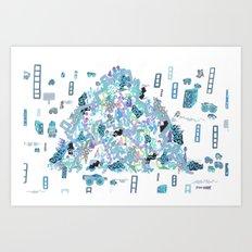 In a Transparent Age, Something Organic, II Art Print