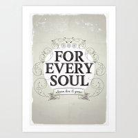 Every Soul Art Print