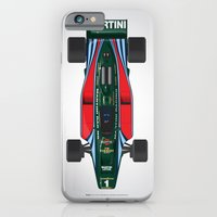 Outline Series N.º2, Mario Andretti, Lotus 80-Ford 1980 iPhone 6 Slim Case