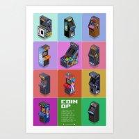 Coin-Op - Variant Art Print