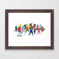 The Creatives! Framed Art Print