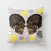Illness Throw Pillow