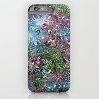iPhone Cases featuring Liquid Bling by Joke Vermeer