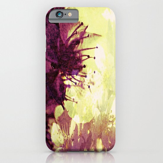 Circle of flowers iPhone & iPod Case