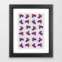 Pattern 10 Framed Art Print