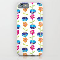 Fish Bowl Flowers iPhone 6 Slim Case