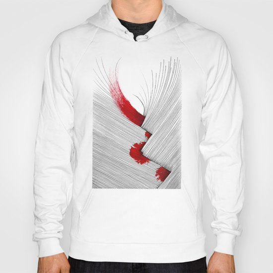 Impact (white version) Hoody