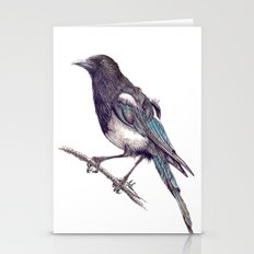 Juvenile Magpie Stationery Cards
