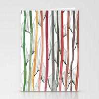 stripes Stationery Cards featuring STRIPES by Uta Krauss