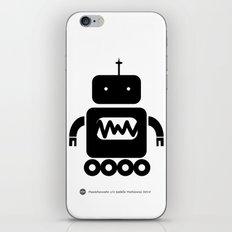 ROBOT Number Three iPhone & iPod Skin