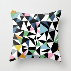 Abstraction Repeat #3 Throw Pillow
