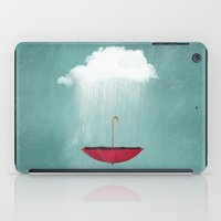 EMBRACING the rain iPad Case
