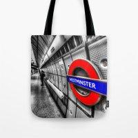 Underground Wait Tote Bag