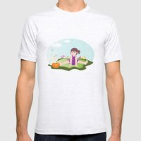 Hoho... It Is On Your No… Mens Fitted Tee Ash Grey SMALL