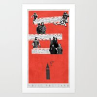 London on Film Art Print