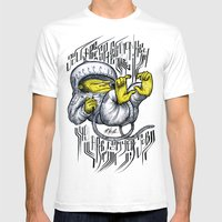 - Jou Are A Space Monkey… Mens Fitted Tee White SMALL