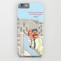 iPhone & iPod Case featuring I {❤} Vespa by lilycious
