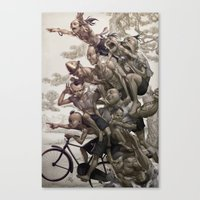 Ten Brothers Canvas Print