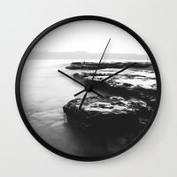 Water Moss Wall Clock