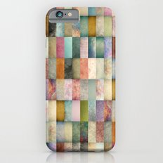 Patchwork Textures iPhone 6 Slim Case