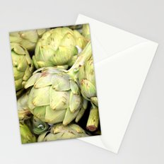 Artichokes - Green Stationery Cards