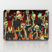 Psychobilly Brawl iPad Case