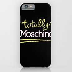 Totally Moschino Black Slim Case iPhone 6s