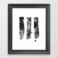 Three Worlds Framed Art Print