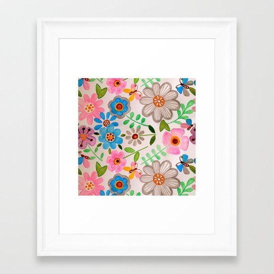 The Garden 2 Framed Art Print