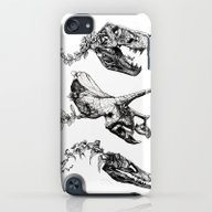 Jurassic Bloom. iPod touch Slim Case