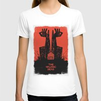 walking dead T-shirts featuring The Walking Dead. by David