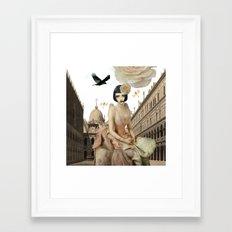 Pretty imagination Framed Art Print