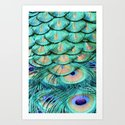 Shimmering Beauty Art Print