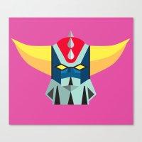 GOLDRAKE - Ufo Robot Canvas Print