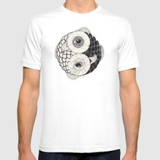 pisces Mens Fitted Tee White SMALL