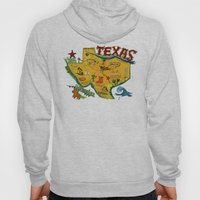 Postcard from Texas print Hoody